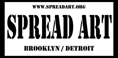 Spread Art logo  three 2012
