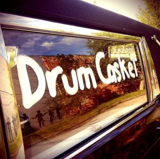 Drum casket usa