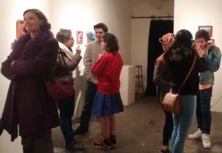 Insight the Riot Annon Art Exhibition Oct 2015
