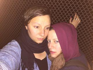 Magda and VAnessa